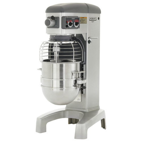 Hobart HL400-1STD 40-Quart Planetary Floor Mixer with Accessories, 200-240V, 3 Phase