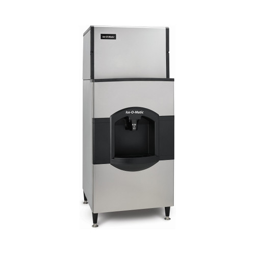 Ice-O-Matic CD40130 Cube Ice/Water Dispenser, 180 lb. storage