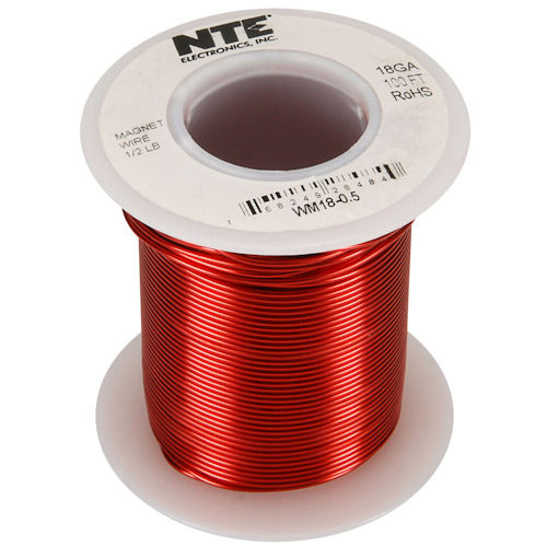 NTE - MAGNET WIRE 18AWG 100FT (WM18-0_5)