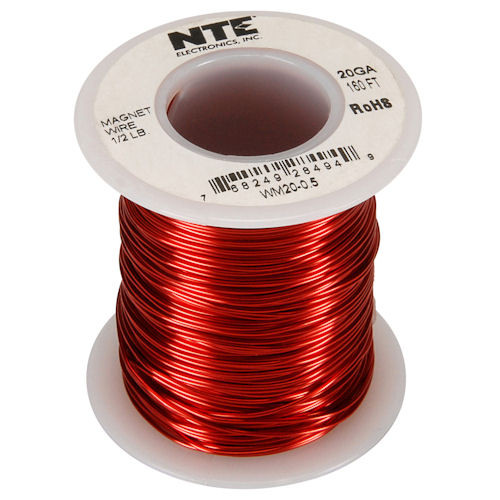 NTE - MAGNET WIRE 20AWG 160FT (WM20-0_5)