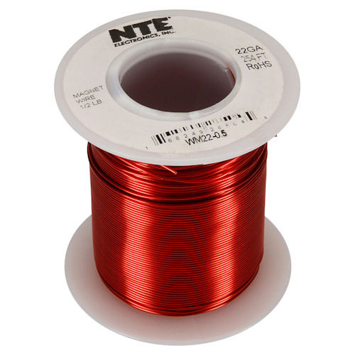 NTE - MAGNET WIRE 22AWG 254FT (WM22-0_5)