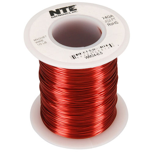 NTE - MAGNET WIRE 24AWG 404FT (WM24-0_5)