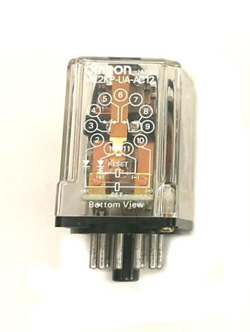 OMRON - RELAY GP DPDT 5A 12VAC COIL (MK2KP-UA-AC12)