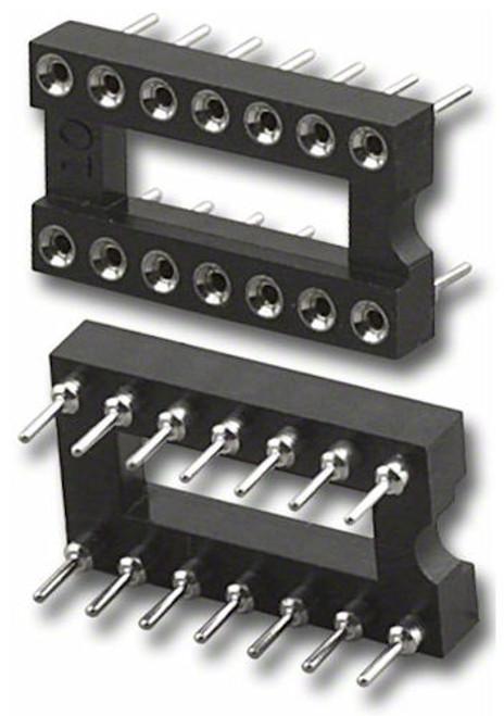 PAN PACIFIC - 14 PIN IC SOCKET MACH PINS (SQ-14)