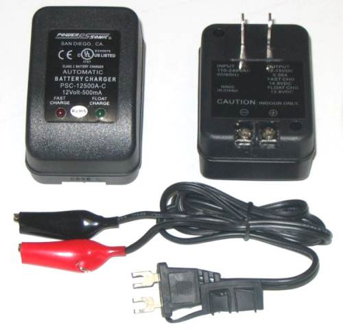 12v 500ma battery charger