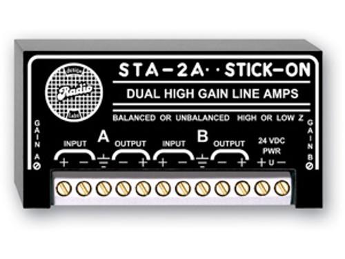 RADIO DESIGN LABS - HIGH OUTPUT LINE AMPLIFIER (STA-2A)