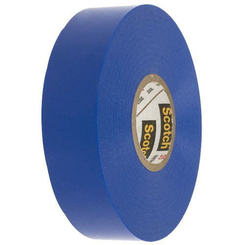 3M - Vinyl Color Tape 3/4-Inch X 66-FT - Blue, From The Product Category Tape & Fasteners