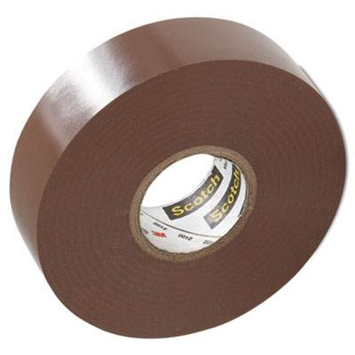 3M - Vinyl Color Tape 3/4-Inch X 66-FT - Brown, From The Product Category Tape & Fasteners
