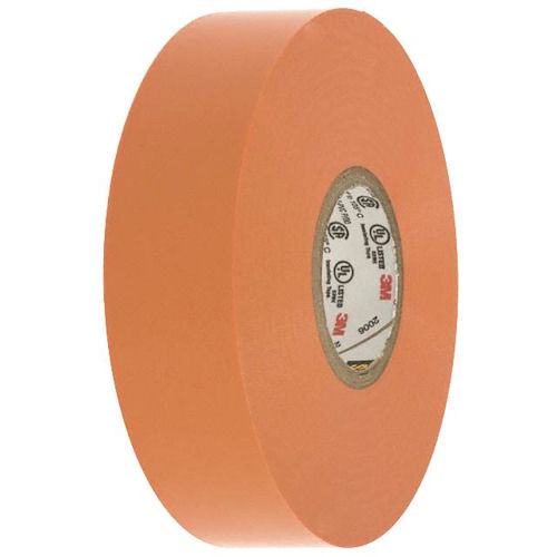 3M - Vinyl Color Tape 3/4-Inch X 66-FT - Orange, From The Product Category Tape & Fasteners
