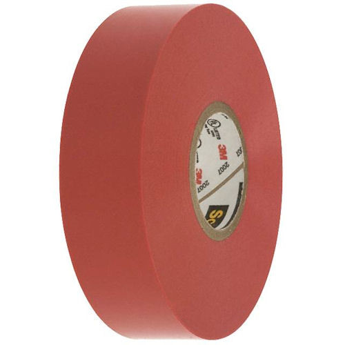 3M - Vinyl Color Tape 3/4-Inch X 66-FT - Red, From The Product Category Tape & Fasteners