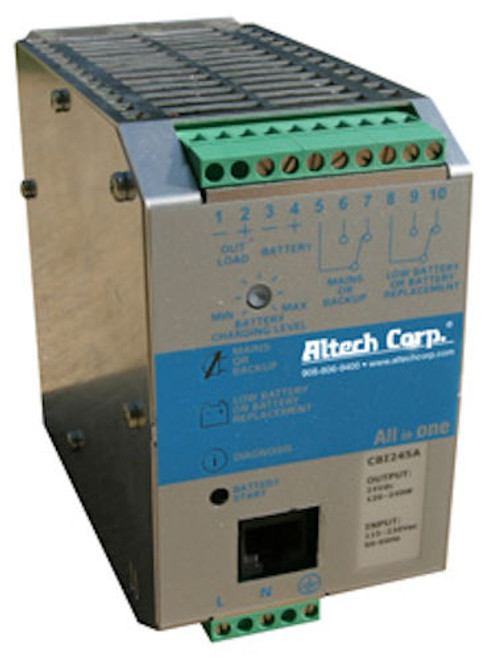 ALTECH - 24DC DIN RAIL ALL-IN-ONE UPS (CBI243A)