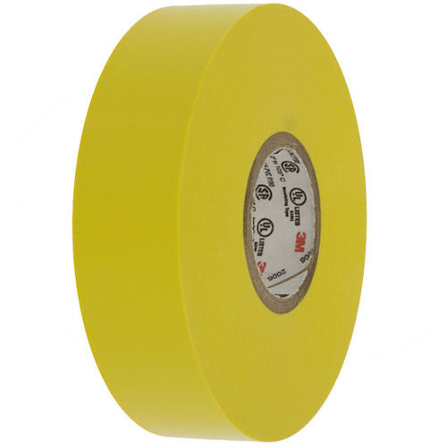 3M - Vinyl Color Tape 3/4-Inch X 66-FT - Yellow, From The Product Category Tape & Fasteners