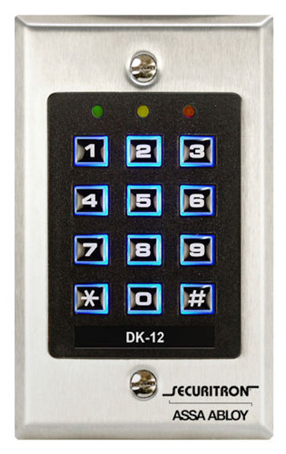SECURITRON - DIGITAL KEYPAD SYSTEM SINGLE (DK-12)