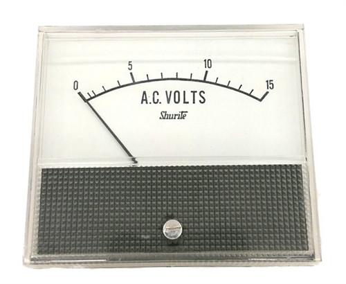 SHURITE - PANEL METER 0-15 ACV (7404Z)