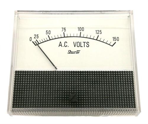 SHURITE - PANEL METER 0-150 ACV (7406Z)