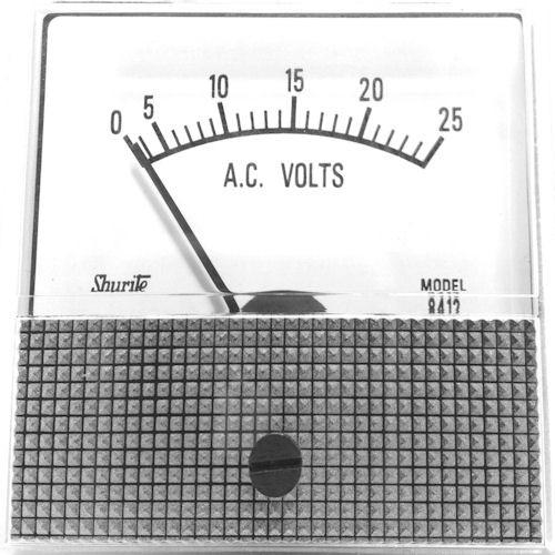 SHURITE - PANEL METER 0-25 ACV (8412Z)