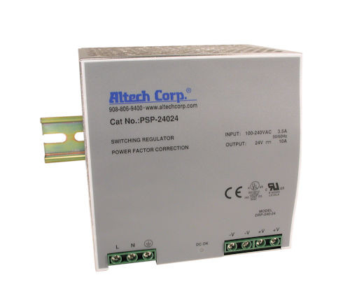 ALTECH - POWER SUPPLY DINRAIL 240W (PSP-24024)