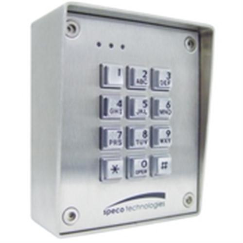 SPECO - KEYPAD WEATHER/VANDAL PROOF (SGWR150)