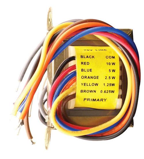 SPECO - 10W 70V LINE TRANSFORMER (T7010)