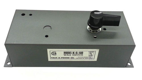 TALK-A-PHONE - WALL SWITCH FOR K-LR-2R (K-S-100)