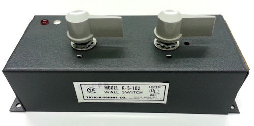 TALK-A-PHONE - WALL SWITCH, 2 MASTERS (K-S-102)