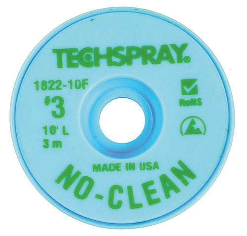 TECH SPRAY - NO CLEAN WICK GREEN A/S (1822-10F)