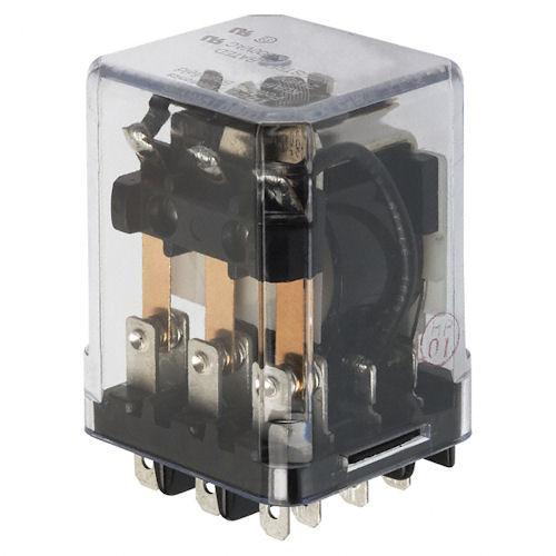 POTTER & BRUMFIELD - 12VDC 3PDT 15A ENCLOSED RELAY (KUMP-14D18-12)
