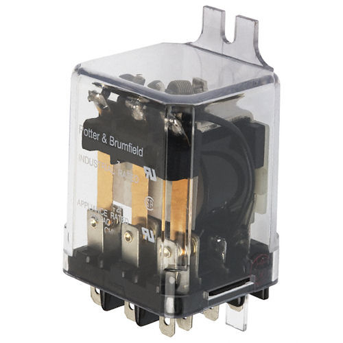 POTTER & BRUMFIELD - 24VAC 3PDT ENCLOSED RELAY (KUP-14A55-24)