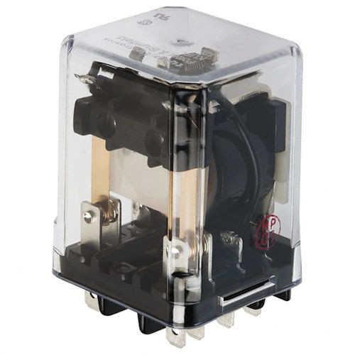 POTTER & BRUMFIELD - 24VDC 3PDT ENCLOSED RELAY (KUP-14D15-24)