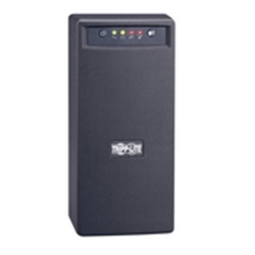 TRIPP LITE - SmartPro 120V 750VA 450W Line-Interactive UPS, AVR, Tower, USB, Surge-only Outlets (SMART750USB)