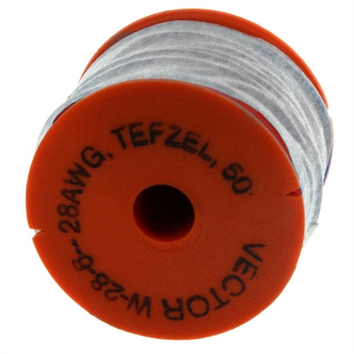 VECTOR - WIRE #28 TEFZEL, RED, 2/PK (W28-6B)