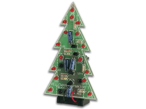 VELLEMAN - ELEC. X-MAS TREE KIT (MK100)