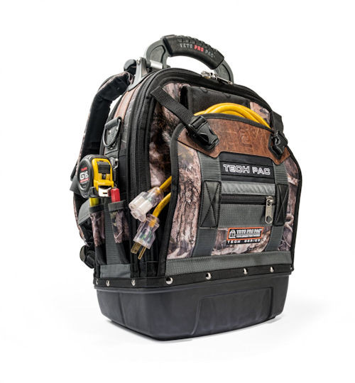 VETO - BACKPACK TOOL BAG TRU TIMBER (TECH_PAC_CAMO)