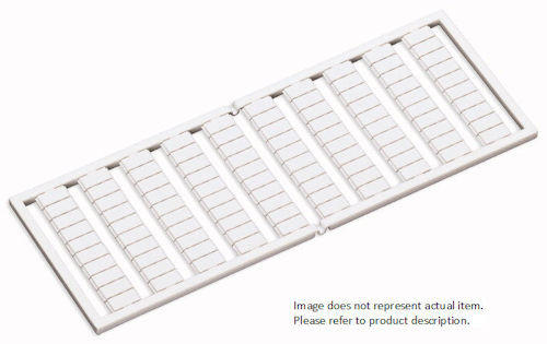 WAGO - WSB 27-28 MARKER WHITE (209-731)