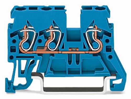 WAGO - RL MTD TRM BLK BLUE (870-684)