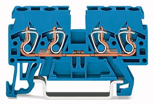 WAGO - RL MTD TRM BLK BLUE (870-834)
