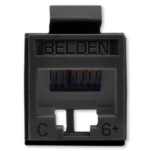 Belden - Revc Cat6+ Utp Jack Black (Rv6Mjkubk-S1), From the product category