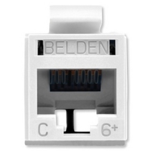 Belden - Revc Cat6+ Utp Jack Elec Wht (Rv6Mjkuew-S1), From the product category