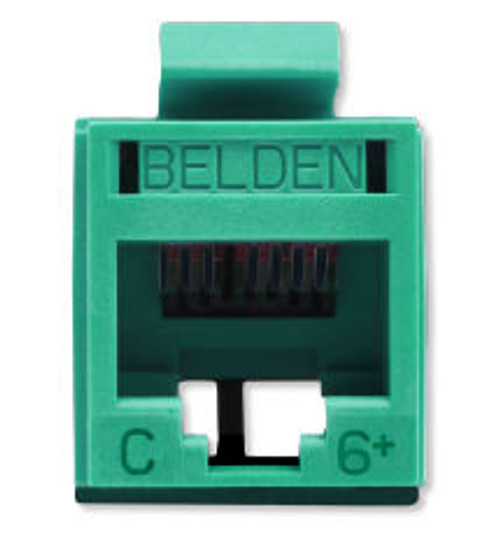 Belden - Revc Cat6+ Utp Jack Green (Rv6Mjkugn-S1), From the product category