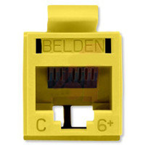 Belden - Revc Cat6+ Utp Jack Yellow (Rv6Mjkuyl-S1), From the product category