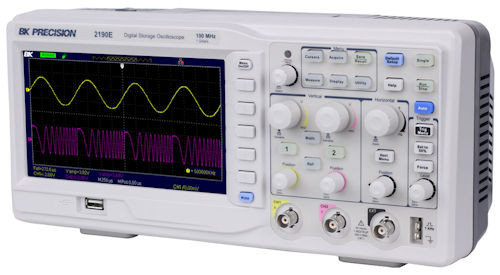 B&K Precision - 100Mhz 2Ch Digi Scope (2190E), From the product category