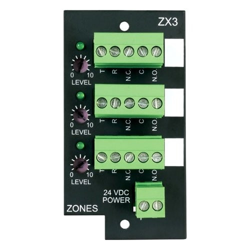 Bogen - 3-Zone Expansion Module For (Zx3), From the product category Bogen