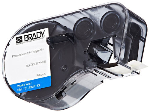 BRADY - TAPE BLK/WHT 1/4 X 7FT (MC-125-342)