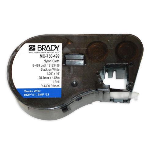 BRADY - TAPE BLK/WHT 3/4 X 16FT (MC-750-499)