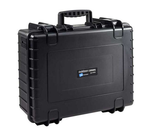 B&W Intl - Type 6000 Case Blk W/Foam Ins (6000_B_Si), From the product category