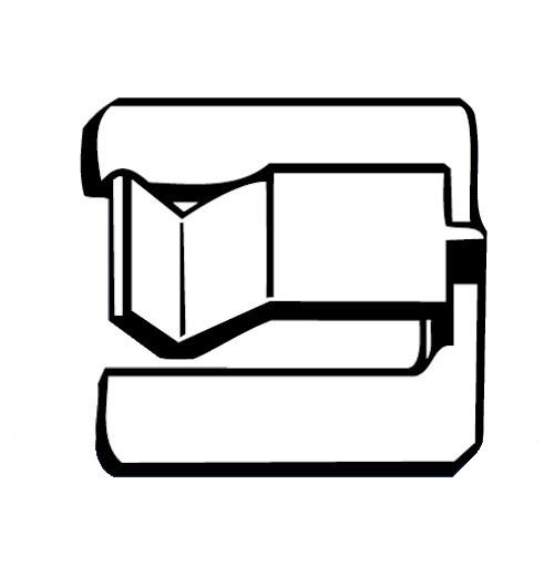 DENNISON - CABLE CLIP FLAT ADH (08406)
