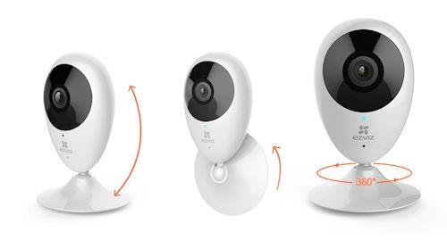 Ezviz - 720P Wifi Cloud Camera (Pro-Mino), From the product category EZVIZ