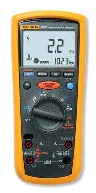Fluke - Insulation Multimeter (Fluke-1587), From the product category Fluke