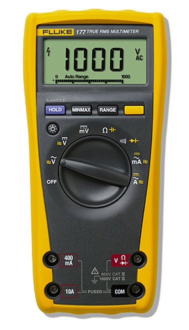 Fluke - True Rms DMM W/Backlight (Fluke-177 Esfp), From the product category Fluke