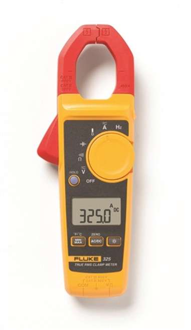 Fluke - 400A  Ac/Dc True Rms Clamp Meter W/Temp (Fluke-325), From the product category Clamp Meter